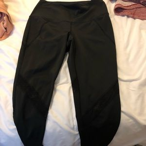splits59 black leggings with mesh